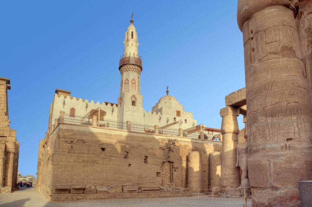 Abu El-Haggag Mosque in Luxor Temple - Egypt