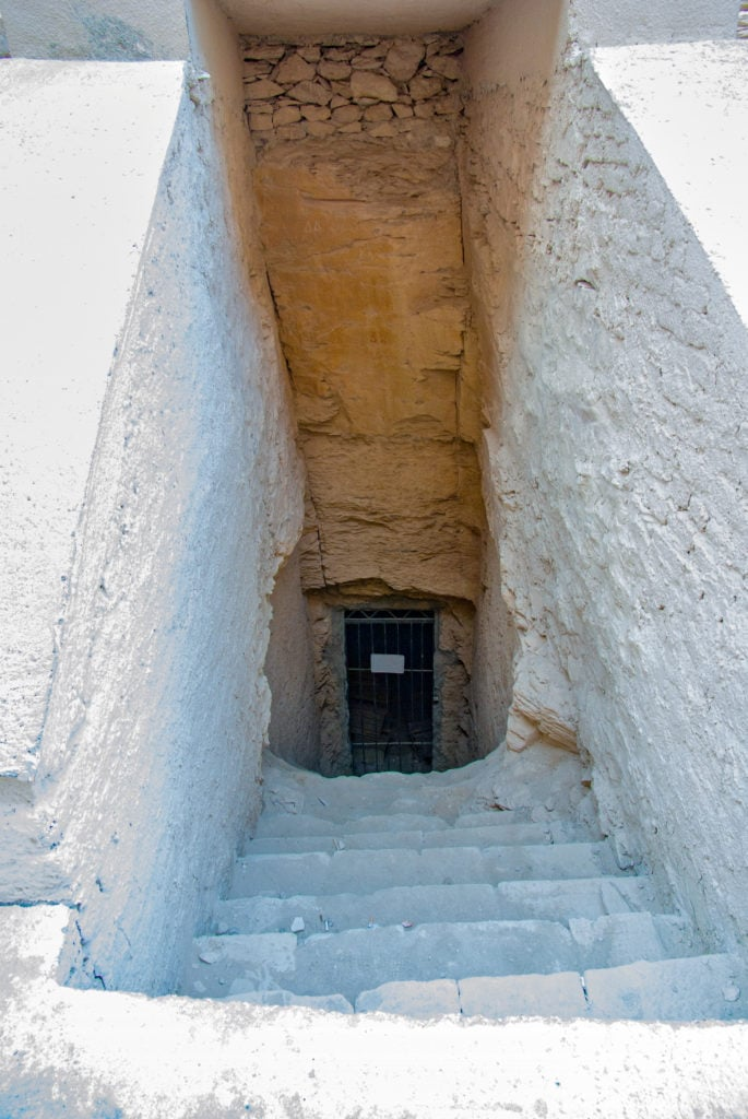 Tomb of Queen Tiaa,  from 18th dynasty. She was mother of Thutmose IV and wife of Amenhotep II.