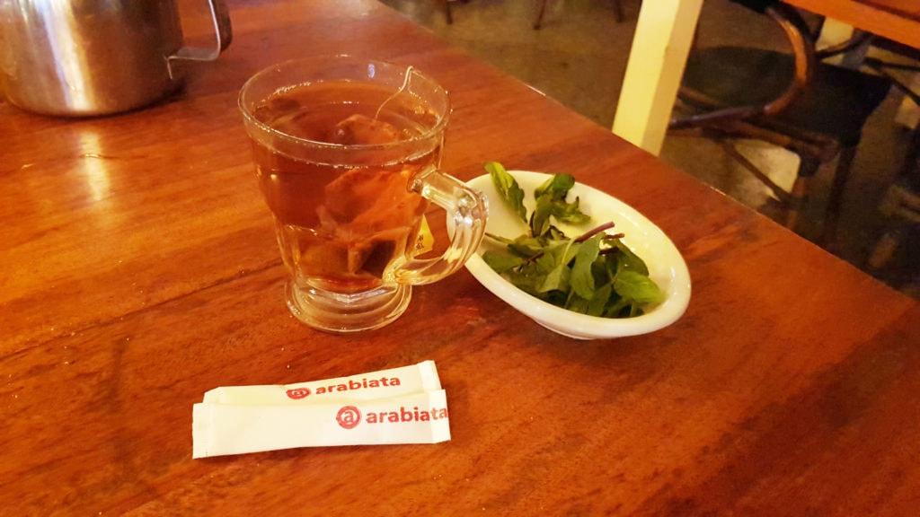 Tea with Mint -Arabiata - New Cairo - Egypt